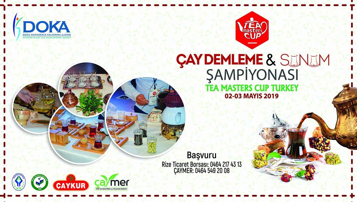Çay Demleme ve Sunum Yarışması 2019