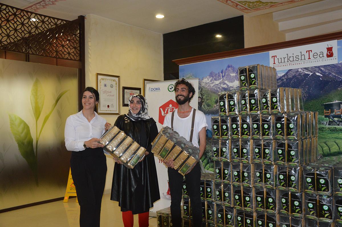 Çay Şampiyonlarının Ödülleri Verildi