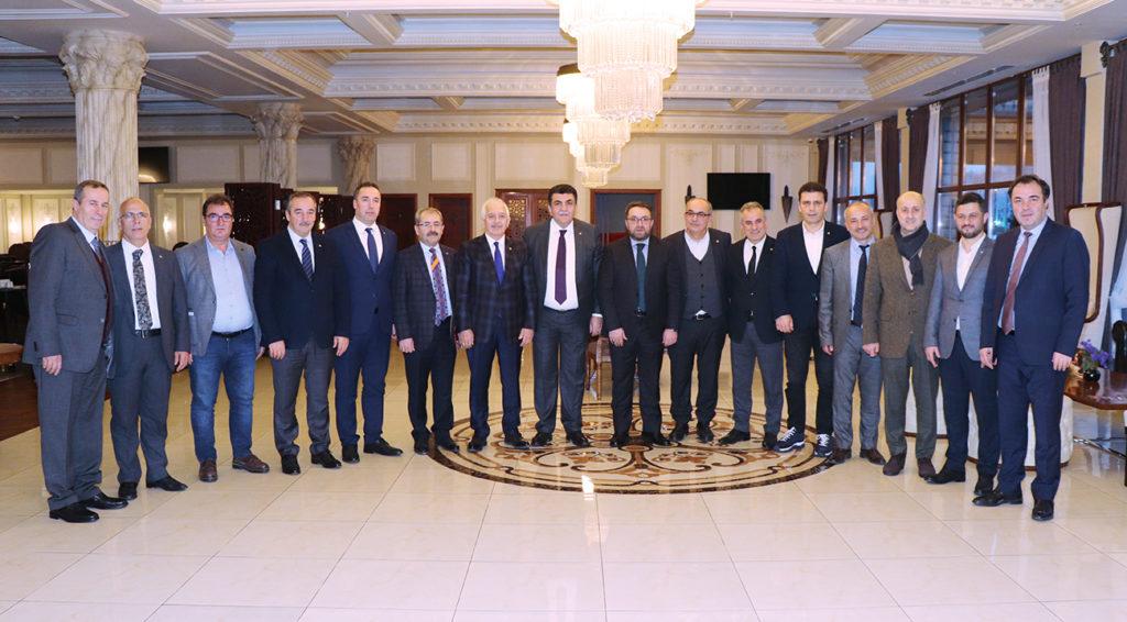 Türkiye Odalar ve Borsalar Birliği Doğu Karadeniz Bölge Toplantısı Yapıldı