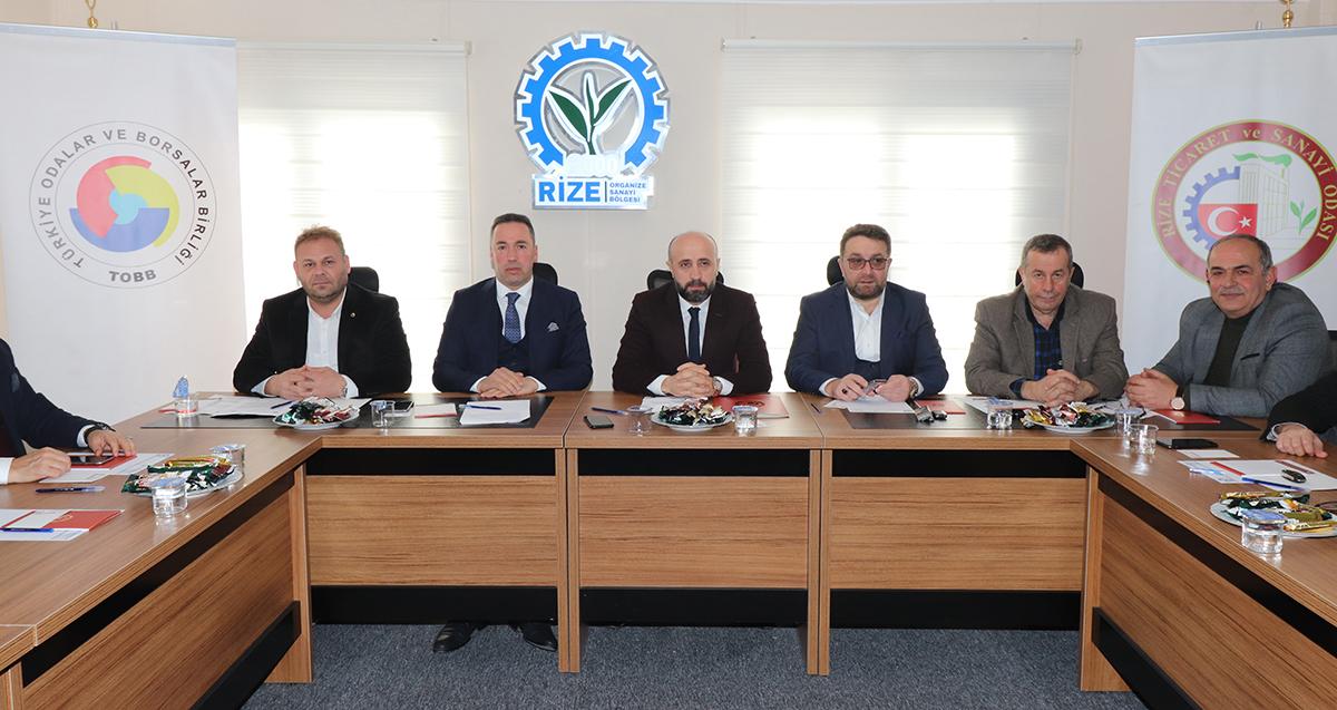 Oda-Borsa Müşterek Toplantısı Organize Sanayi Bölgesi'nde Yapıldı