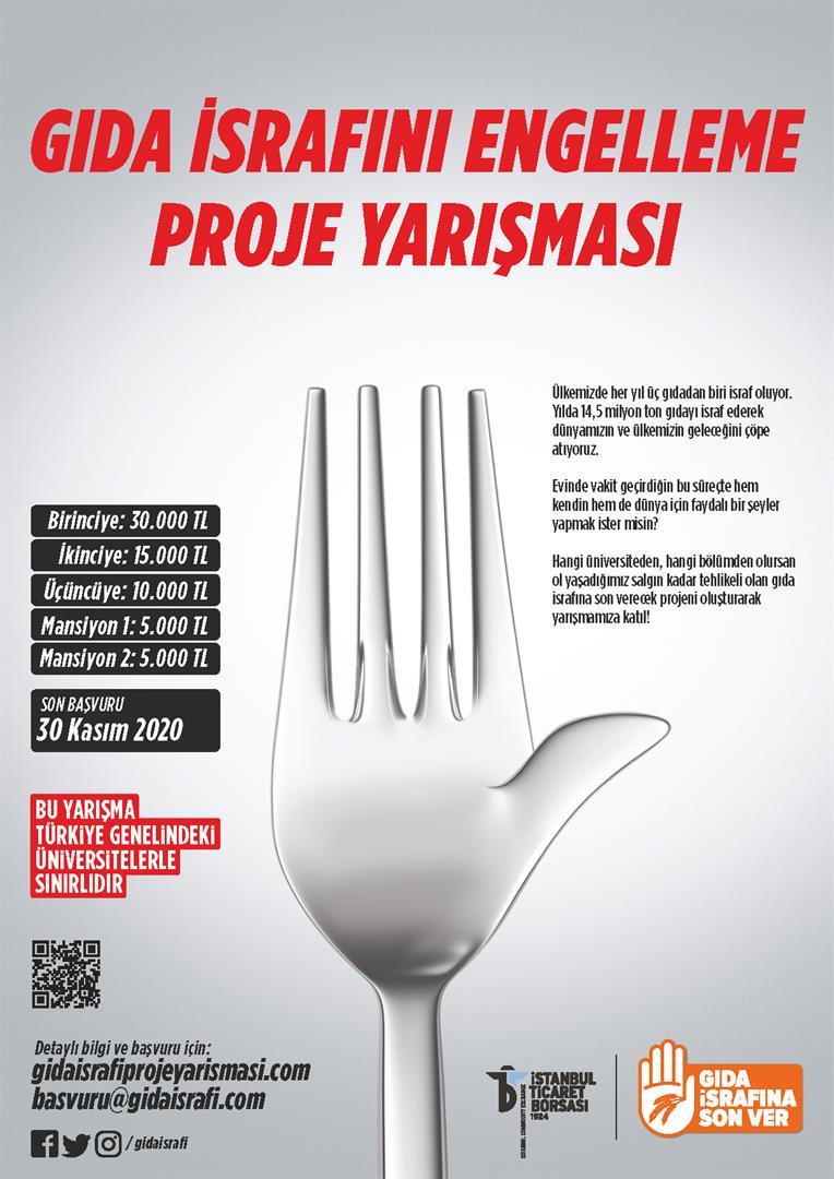 Gıda İsrafını Engelleme Projesi Yarışması