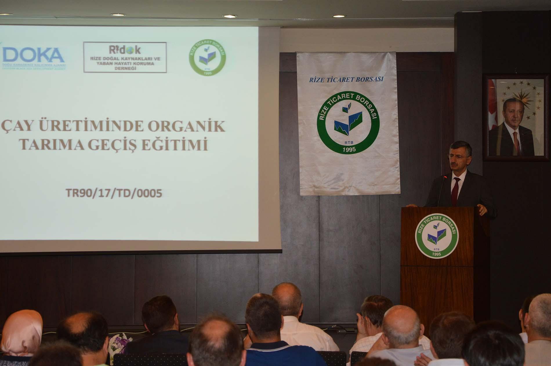 Çay Üretiminde Organik Tarıma Geçiş Eğitimi Yapılacak
