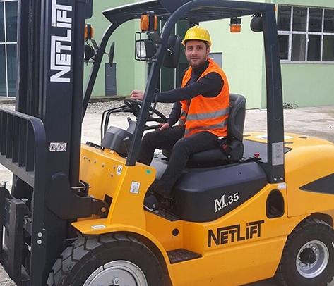 Rize Ticaret Borsasından 120 Kişiye Forklift Eğitimi