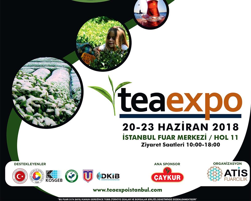 20-23 Haziran İstanbul Çay Fuarı
