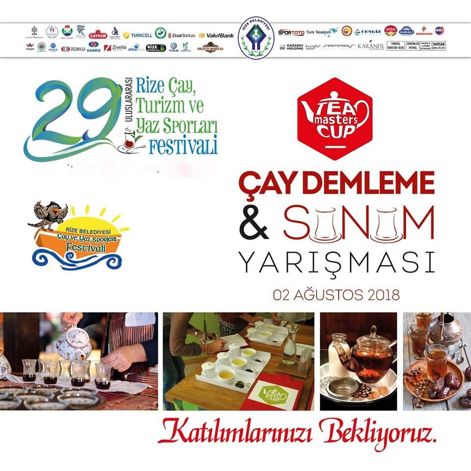 Çay Demleme ve Sunum Yarışması 2018