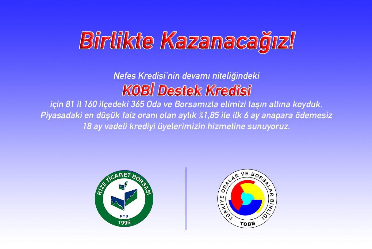 KOBİ DESTEK (NEFES) KREDİSİ